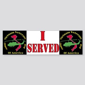 VVA Chapter 818 Bumper Sticker